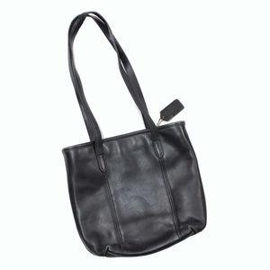 VTG Coach leather Tote Bucket Bag Purse 9077